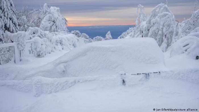 BdTD Deutschland Winter im Taunus