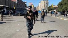 Irak Selbstmordanschlag in Bagdad