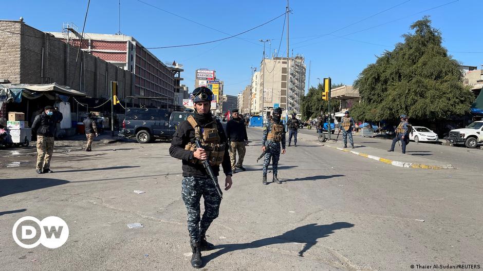 عشرات القتلى والجرحى في هجومين انتحاريين في بغداد