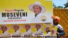 Uganda Wahlkampf 2020 | Yoweri Museveni, Präsident