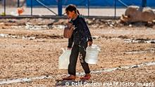 Syrien Hasakah Wasserknappheit