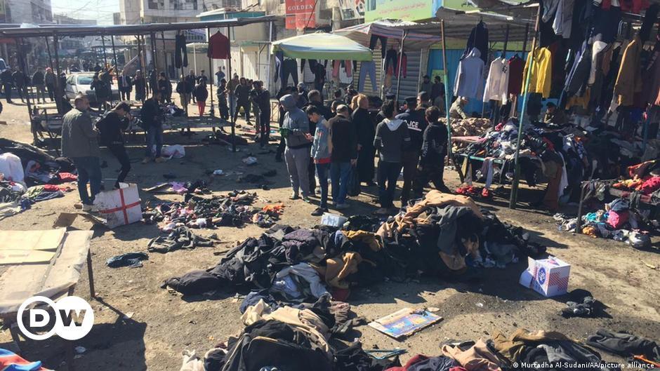 Doppelanschlag erschüttert Iraks Hauptstadt