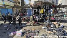 Irak Baghdad Selbstmordanschlag