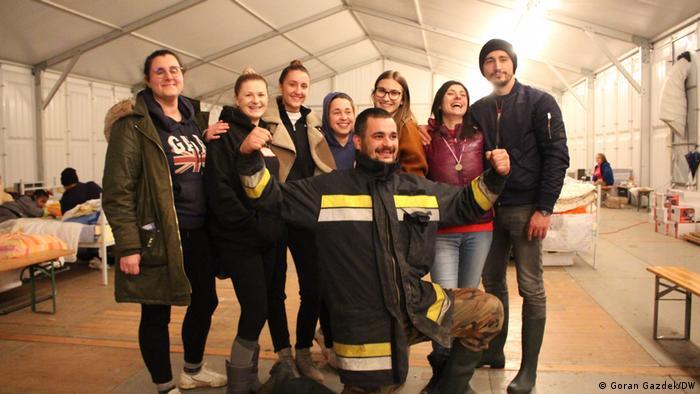Volonteri u Petrinji