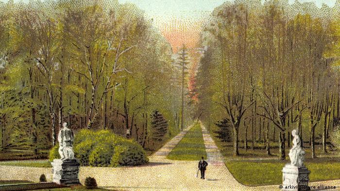 Почтовая открытка 1904 года