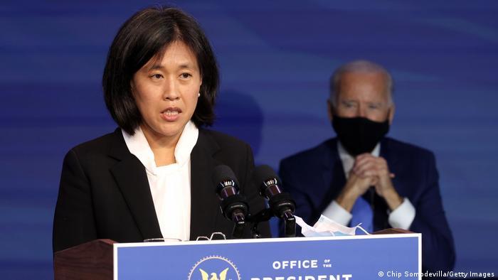 USA Neues Kabinett Joe Biden Handelsbeauftragte Katherine Tai