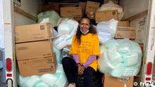 Hiwot Tadesse - junge äthiopische Schauspielerin nutzt Social Media um spenden zu Sammeln