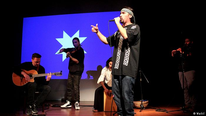 Chile: hiphop mapuche.