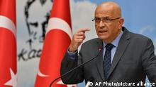 Turkey Politics Enis Berberoglu