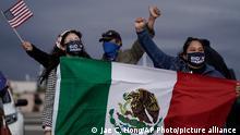 USA - Mexiko Wähler von Biden und Harris
