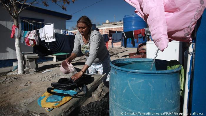 USA - Mexiko Armut in Ciudad Juárez