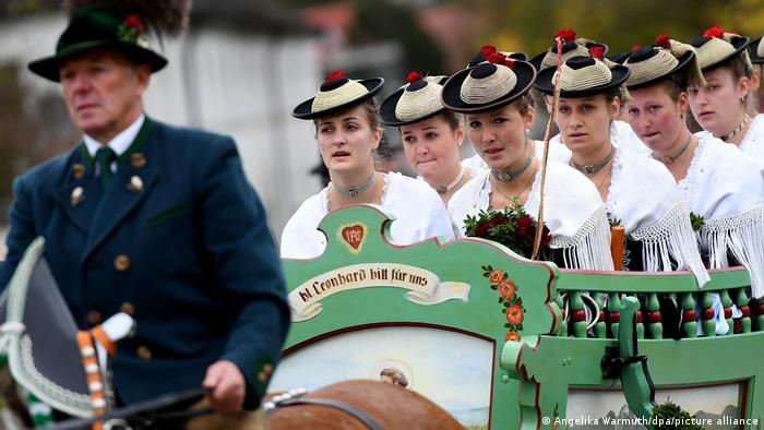 Паломничество на лошадях в день Святого Леонарда