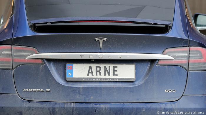 Norwegen - Tesla