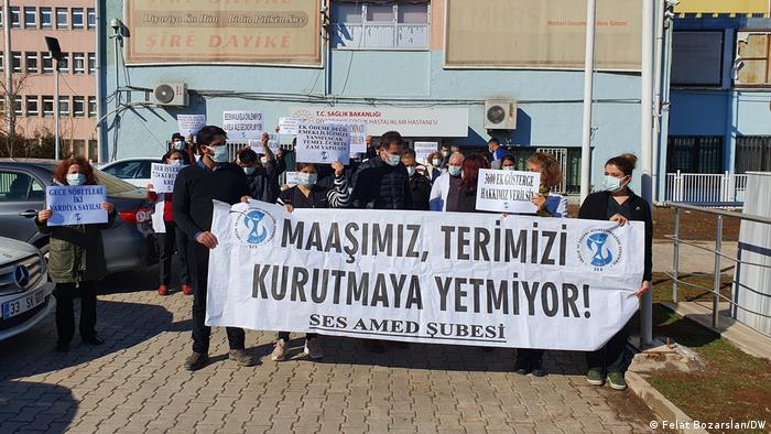 Diyarbakır'da gerçekleştirilen SES eylemi