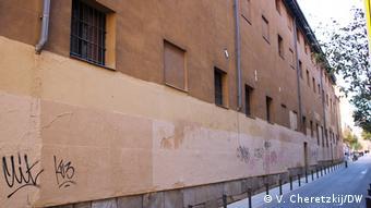 В этом здании в годы гражданской войны размещалась одна из самых зловещих ЧеКас - Святого Бернарда