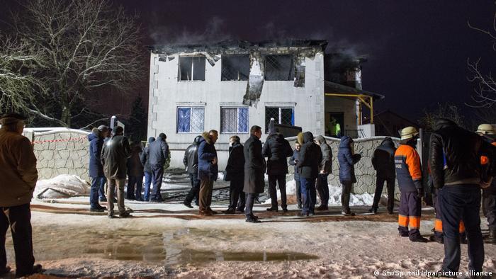 Будинок для літніх людей у Харкові після пожежі