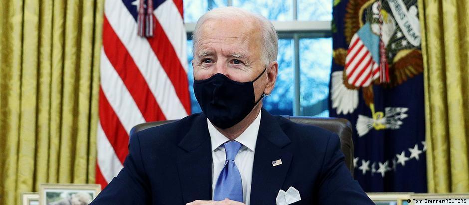 USA Washington | Joe Biden im Oval Office