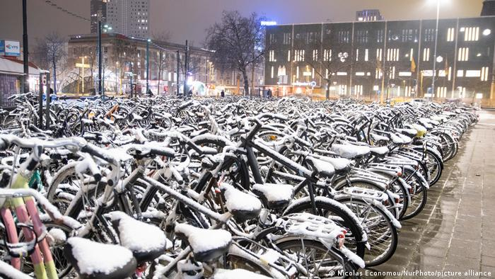 Bikes in the Netherlands