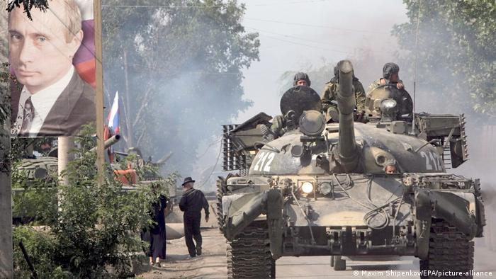 Georgien | Kaukasus-Konflikt | russische Armee in Zchinwali