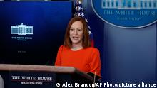USA Washington | Pressesprecherin Jen Psaki