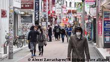 Japan inmitten der COVID-19-Pandemie