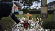 Deutschland Coronavirus Beerdigung