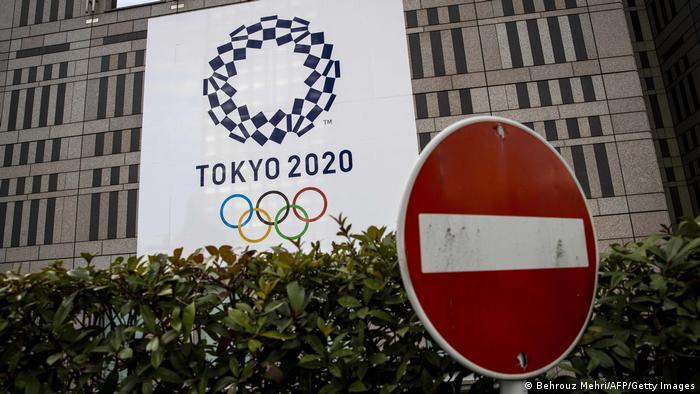 Japan Tokio |Werbung Olympische Sommerspiele 2020