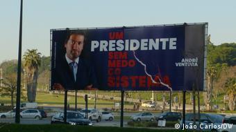 Ο Αντρέ Βεντούρα, πρόεδρος του εθνολαϊκιστικού κόμματος Chegal (Φτάνει!)