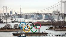 Tokio 2020 - Olympische Ringe