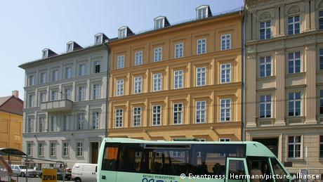 Будинок у Берліні, в якому розташована квартира Анґели Меркель та її чоловіка Йоахіма Зауера