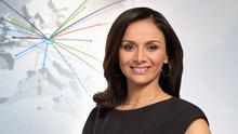 DW News arabisch Moderatorin Maissun Melhem (Teaser)