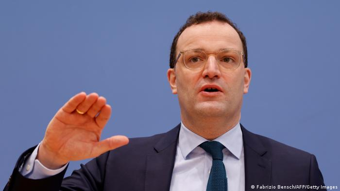 Health Minister Jens Spahn speaks