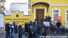 Republik Moldau Chisinau Verfassungsgericht | Protest Entscheidung