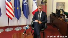 Minister for defense Anton Quni in interview for DW. Author: Bekim Shehu, DW correspondent from Kosovo Date: 22.01.2021