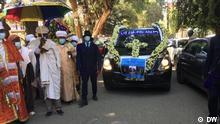 Äthiopien Addis Abeba |Beerdigung Getachew Desta, DW-Mitarbeiter