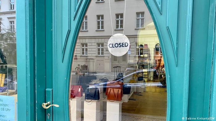 Deutschland Berlin Einzelhandel in der Corona-Krise