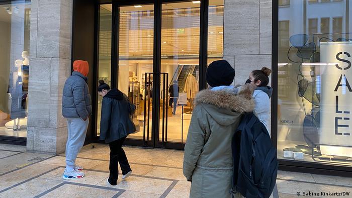 Deutschland Berlin Einzelhandel in der Corona Krise