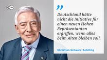 DW Zitattafel |Christian Schwarz-Schilling