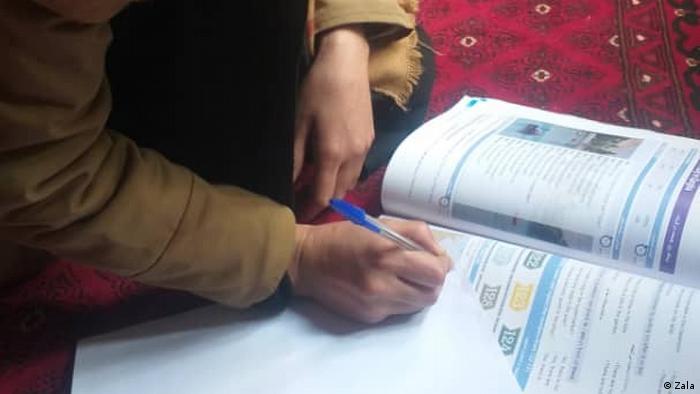 Afghanistan ein afghanisches Mädchen Zala
