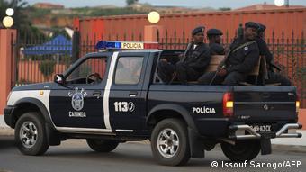 Angola Symbolbild Polizei in Cabinda