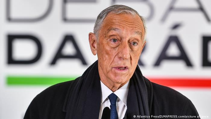 Portugese President Marcelo Rebelo de Sousa