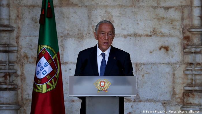 Portugal Präsident Marcelo Rebelo de Sousa