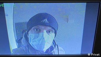 Weissrussland Minsk Verdeckte Polizei-Mitarbeiter in Nowaja Borowaja