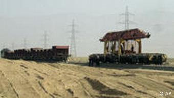 ۱۷۵ میلیون دلار برای خط آهن افغانستان به ازبکستان سرمایه گذاری شد