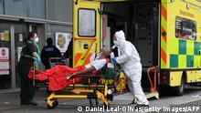 UK Corona-Pandemie | Anlieferung Krankenhaus