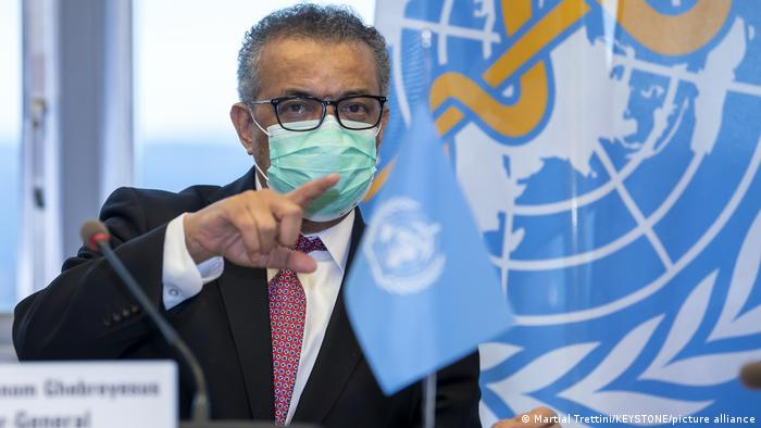 Schweiz Genf | WHO Direktor Tedros Adhanom Ghebreyesus
