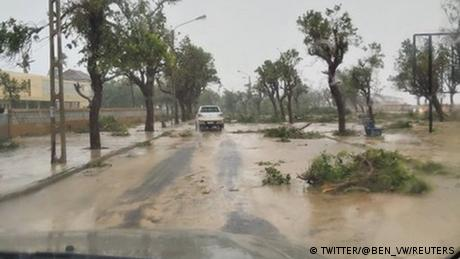 Tropical Cyclone Eloise hit Beira, Mozambique on Saturday