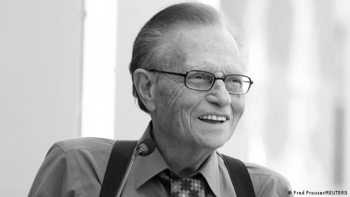 Larry King - Talkshow Moderator