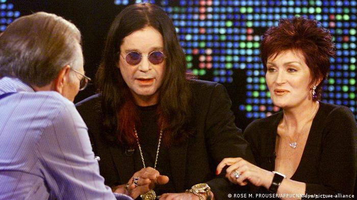 Larry King with Ozzy and Sharon Osbourne