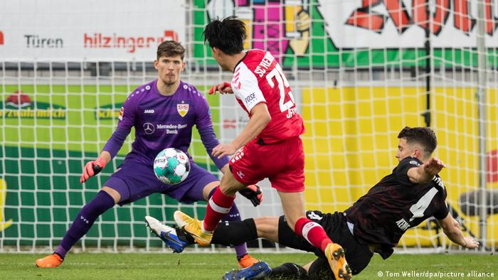 Fußball Bundesliga Freiburg v VfB Stuttgart Tor 2:1